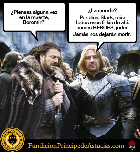 Resultado de imagen de Muerte de Boromir