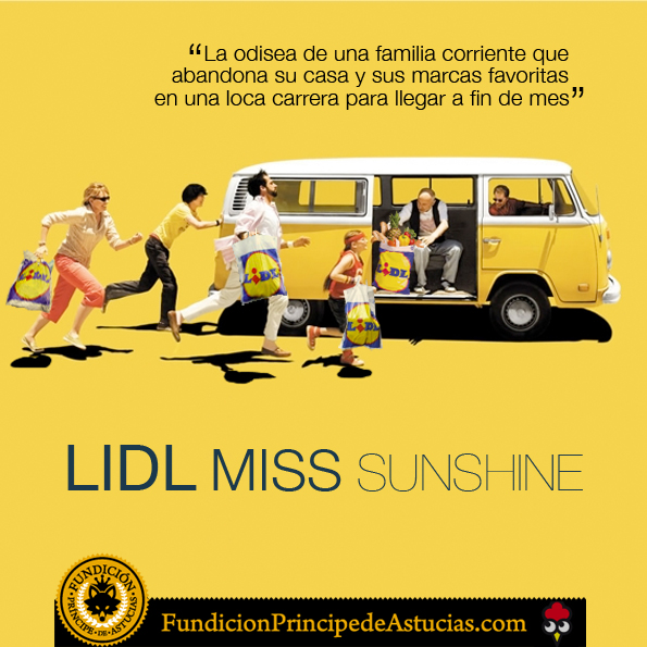Gallota LIDL Miss Sunshine