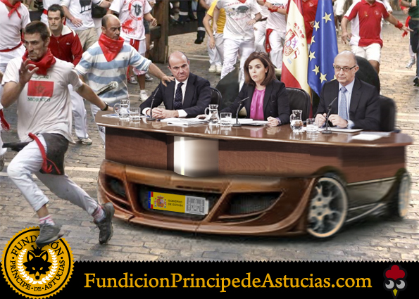Gallota Ministros San Fermin