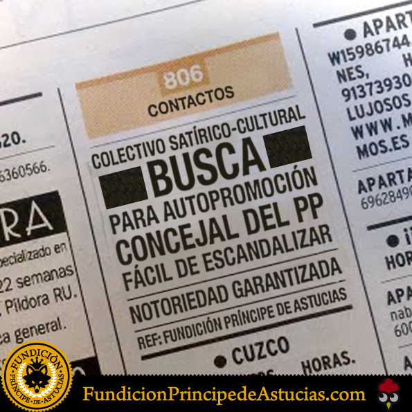 Gallota Anuncio Fundicion Concejal