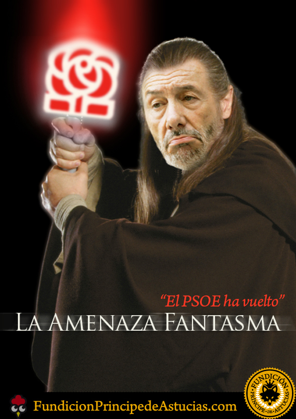 Gallota PSOE Amenaza Fantasma