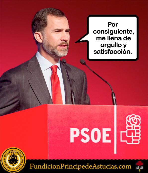 Gallota Felipe VI PSOE