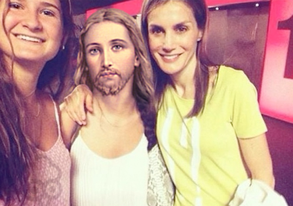 Gallota Letizia Selfie
