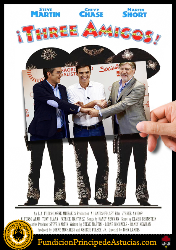 Gallota Three Amigos PSOE
