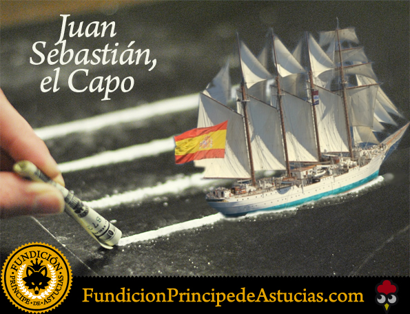 Gallota Cocaina Buque Elcano