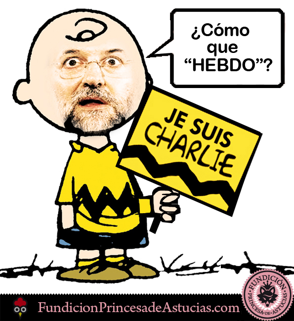 Gallota Charlie Brown Hebdo