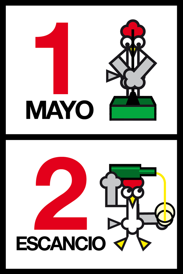 Gallota Mayo Escancio