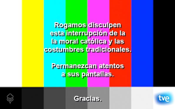 Gallota TVE Orgullo Gay