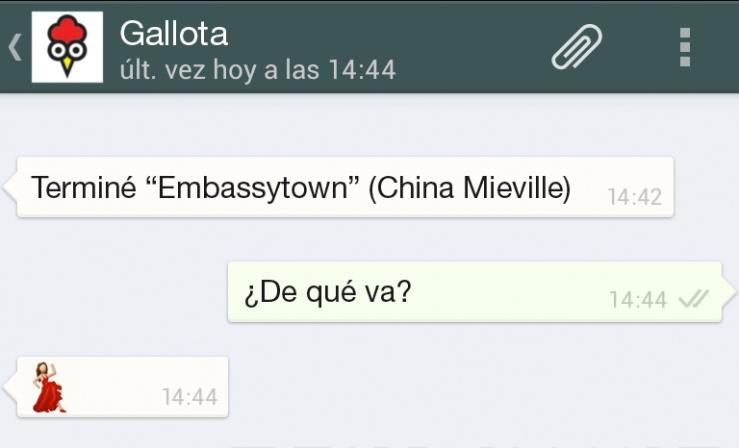 Gallota Embassytown Bailaora