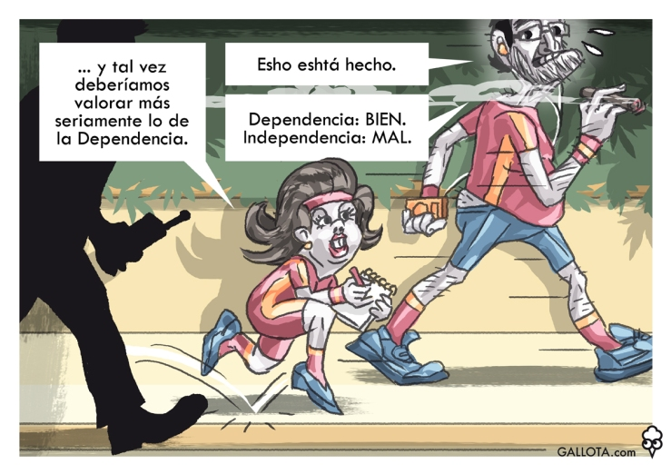 150922_GALLOTA Rajoy Soraya Dependencia